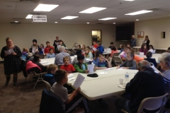 Sing-along with a local 4th grade class